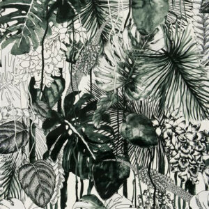 "Christian Lacroix for Designers Guild ""Soft Jardin Exo'chic"" in Caviar"
