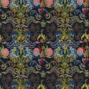 "Christian Lacroix for Designers Guild ""Tumulte"" in Arlequin"