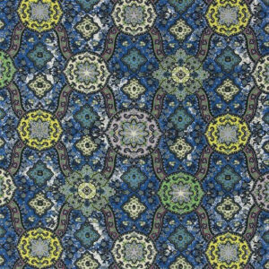 """Christian Lacroix for Designers Guild """"Wild Palms"""" in Cobalt"""