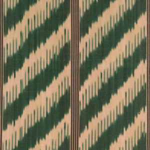 "Robert Kime ""Chevron"" in Green"