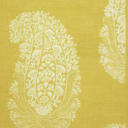 """Titley & Marr """"Paisley Ground"""" in Yellow"""