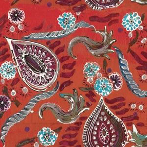 "Lalie Design ""Maharani"" in Vermillion"