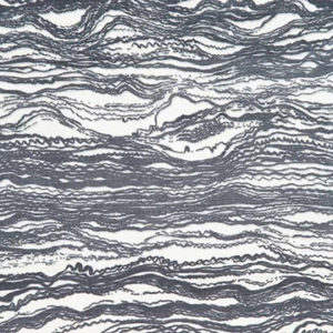 "Rebecca Atwood ""Waves"" in Stone Gray"
