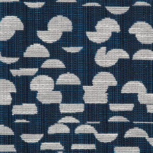 """Rebecca Atwood """"Cut Up Dot"""" in Navy"""