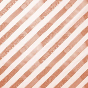 "Rebecca Atwood ""Diagonal Stripe"" in Blush"