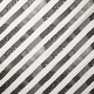 "Rebecca Atwood ""Diagonal Stripe"" in Smoke"