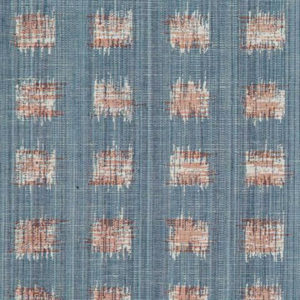 """Rebecca Atwood """"Griddled Ikat"""" in Blue Pink"""