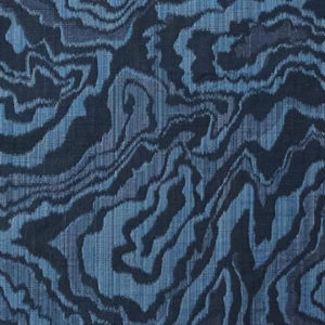 """Rebecca Atwood """"Marble Geode"""" in Navy"""