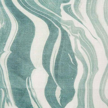 "Rebecca Atwood ""Marbled Stripe"" in Lagoon"