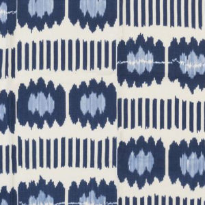 "Madeline Weinrib ""Collins Ikat"" in Blue"
