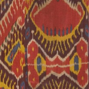 "Madeline Weinrib ""Dashwood Ikat"" in Red"