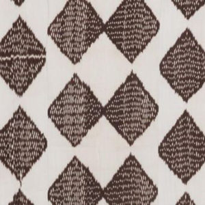 "Madeline Weinrib ""Dodi Ikat"" in Brown"