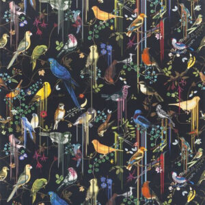 "Christian Lacroix for Designers Guild ""Birds Sinfonia"" in Crepuscule"