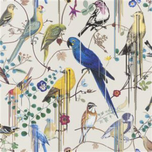 "Christian Lacroix for Designers Guild ""Birds Sinfonia"" in Perce Neige"