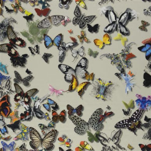 "Christian Lacroix for Designers Guild ""Butterfly Parade"" in Daim"