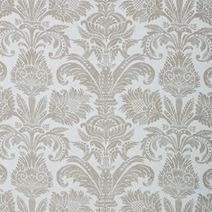 "Dedar ""Fr Pure Damask"" in Perla"