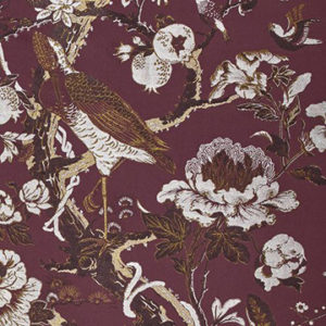 "Dedar ""Silkbird Jacquard"" in Purple Lac"