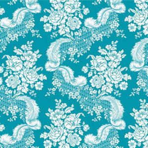 "Edit ""Plume"" in Turquoise"