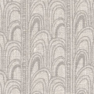 "Fayce Textiles ""Deco"" in Light Grey"