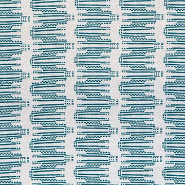 "Fayce Textiles ""Empire"" in Dark Teal"