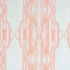 """Fayce Textiles """"Flow"""" in Coral"""