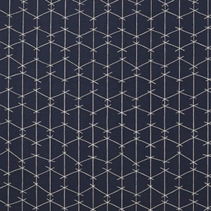 "Ferrick K Mason by Alex K Mason ""Criss Cross - Outoor"" in True Blue"