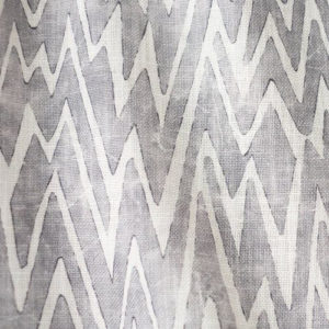 "Fret Fabrics ""Zigetty Zag"" in Gray"