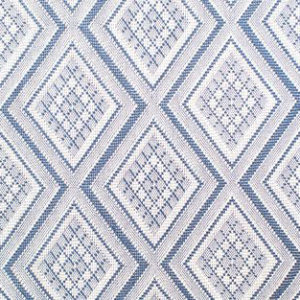 "Jane Shelton ""Oxmoor Diamond"" in Blue"
