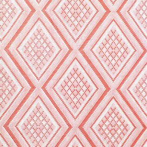 "Jane Shelton ""Oxmoor Diamond"" in Coral"