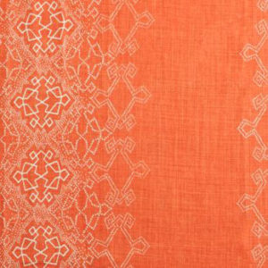 "Lisa Fine Textiles ""Aswan"" in Clementine"