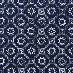 "LuRu Home ""Honeycomb"" in Indigo"