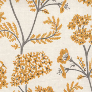 "Madder Cutch & Co ""Achillea"" in Hay & Slate Grey"
