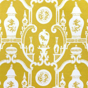 """Madeaux by Richard Smith """"Cathay"""" in Imperial Yellow"""