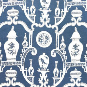 """Madeaux by Richard Smith """"Cathay"""" in Indigo"""