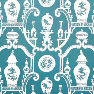 """Madeaux by Richard Smith """"Cathay"""" in Teal"""