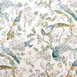 "Madeaux by Richard Smith ""Aviary Glazed"" in Golden Teal"