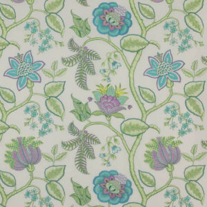 "Manuel Canovas ""Aurore"" in  Turquoise"