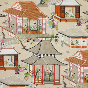 "Manuel Canovas ""Madame Butterfly"" in  Rouge De Chine"