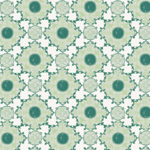 """Nine Muses """"Amber Palace Large"""" in Green"""