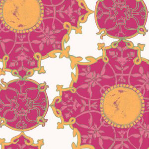 """Nine Muses """"Amber Palace Large"""" in Pink"""