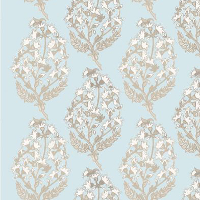 """Nine Muses """"Flores Paisley"""" in Ice"""