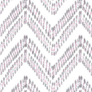 "Nine Muses ""Ikat Thread"" in Pink"