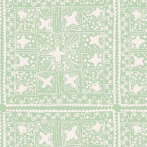 "Nine Muses ""Quilt Reverse"" in Mint"