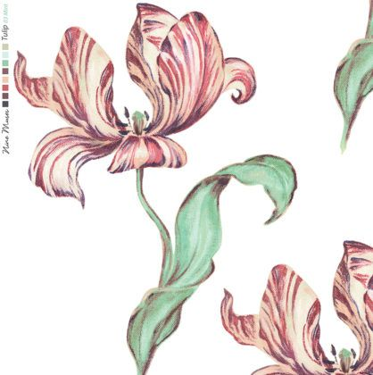 """Nine Muses """"Tulip"""" in Mint"""