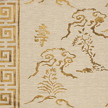 """Nomi Fabrics """"Dynasty"""" in Natural"""