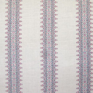 "Peter Dunham ""Isfahan Stripe"" in Raspberry"