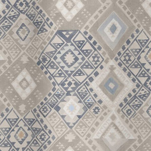 "Quercus & Co ""Kilim"" in Navy"