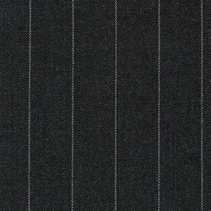 "Ronda Carman ""Domock Stripe"" in Charcoal"
