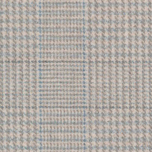"""Ronda Carman """"The New Town Collection Check"""" in Pale Blue"""