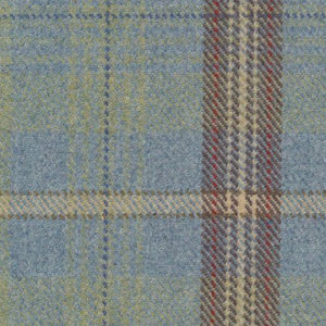 """Ronda Carman """"The New Town Collection Plaid"""" in Blue"""